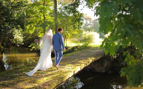 Vidéaste mariage manoir et nature