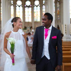 Vidéo de mariage mixte