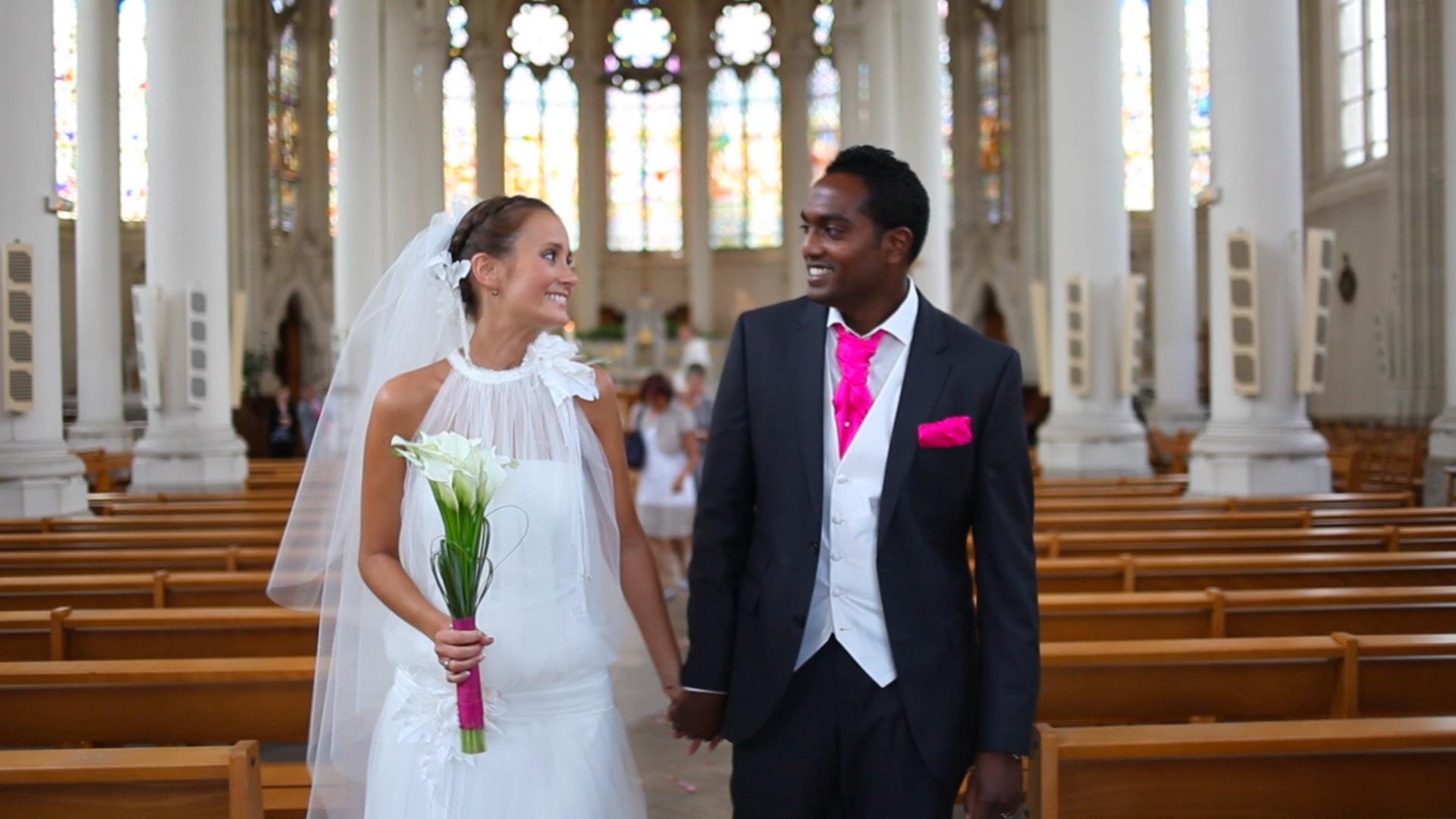 Vidéo de mariage mixte, français et hindou | Un Mariage, Une Histoire