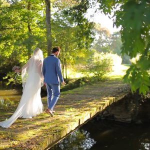 Mariage nature et manoir