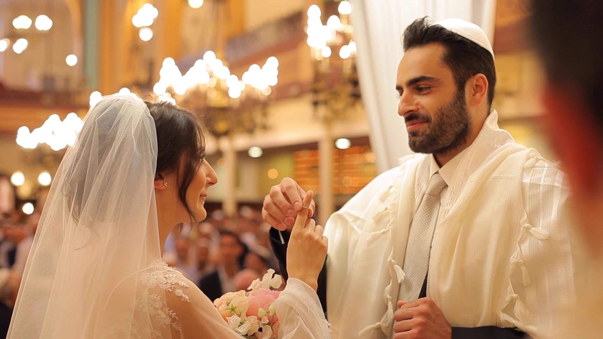 Vidéo mariage Juif Paris
